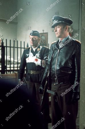 'The Eagle Has Landed' film - 1976 - Sven-Bertil Taube and Michael Caine