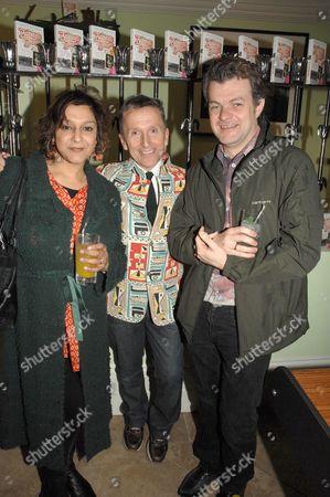 Meera Syal, Simon Doonan and Jonathan Harvey