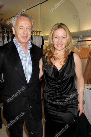 Stock Image of Gilles Bensimon and Diana Picasso