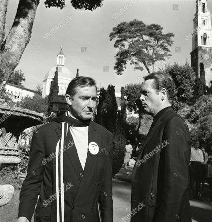 'The Prisoner' TV [The Arrival] - 1967 - Guy Doleman and Patrick McGoohan