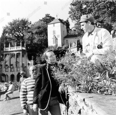 'The Prisoner'  TV [Checkmate]  - 1967 - Ronald Radd, Patrick McGoohan, Danvers Walker