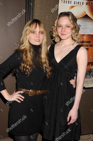 Halley Wegryn Gross and Louisa Krause