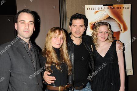 Director David Ross, Halley Wegryn Gross, John Leguizamo and Louisa Krause