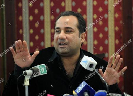 Editorial image of Pakistan Rahat Fateh Ali Khan - Feb 2011