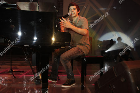 American Idol Season Seventh Finalist Us David Archuleta Performs During a Promotional Tour in Quezon City East of Manila Philippines 17 November 2010 Archuleta is Promoting His Single 'Something 'Bout Love' From His Second Album the Other Side of Down Philippines Manila
