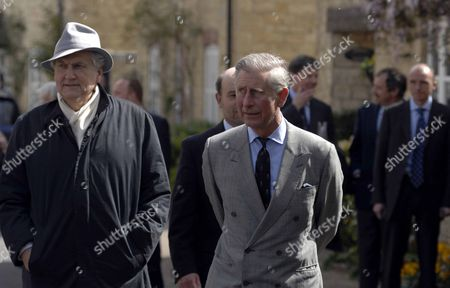 Architect Leon Krier and Prince Charles