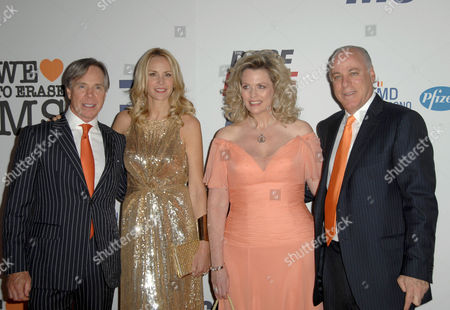 Tommy Hilfiger, Dee Ocleppo, Nancy Davis and husband Ken Rickel