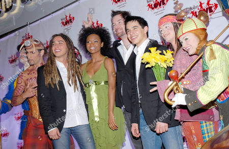 American Idol final four contestants Jason Castro, Syesha Mercado, David Cook and David Archuleta