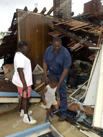 Editorial image of United States Jackson Tornado Destruction - May 2003