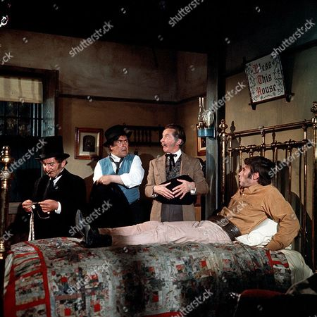 'Carry On Cowboy'   Film Davy Kaye, Peter Butterworth, Kenneth Williams and Jim Dale