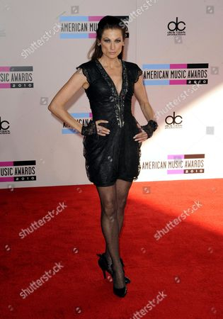 Us Actress Nancy La Scala Arrives For the 38th Annual American Music Awards in Los Angeles California Usa 21 November 2010 United States Los Angeles