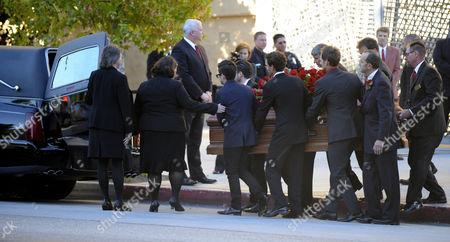 Editorial image of Usa Dino De Laurentiis Funeral - Nov 2010