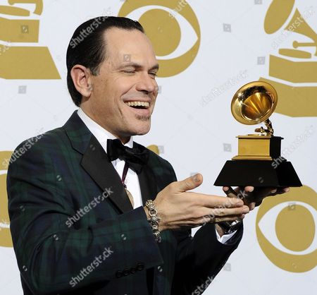 Us Jazz Singer Kurt Elling with His Award For Best Jazz Vocal Album at the 52nd Annual Grammy Awards at the Staples Center in Los Angeles California Usa 31 January 2010 the Grammys Are Presented Annually by the National Academy of Recording Arts and Sciences of the United States For Outstanding Achievements in the Music Industry United States Los Angeles