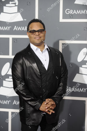 Us Gospel Singer Israel Houghton Arrives For the 53rd Annual Grammy Awards at Staples Center in Los Angeles California Usa 13 February 2011 United States Los Angeles