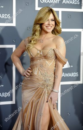 Albanian-american Singer Kristine Elezaj Arrives For the 53rd Annual Grammy Awards at Staples Center in Los Angeles California Usa 13 February 2011 United States Los Angeles