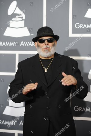 Us Musician Poncho Sanchez Arrives For the 53rd Annual Grammy Awards at Staples Center in Los Angeles California Usa 13 February 2011 United States Los Angeles