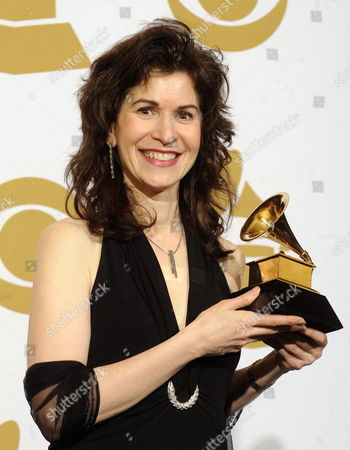 Classical Guitarist Sharon Isbin of the Us Holds Her Award For 'Best Instrumental Soloist Performance' at the 52nd Annual Grammy Awards at the Staples Center in Los Angeles California Usa 31 January 2010 the Grammys Are Presented Annually by the National Academy of Recording Arts and Sciences of the United States For Outstanding Achievements in the Music Industry United States Los Angeles