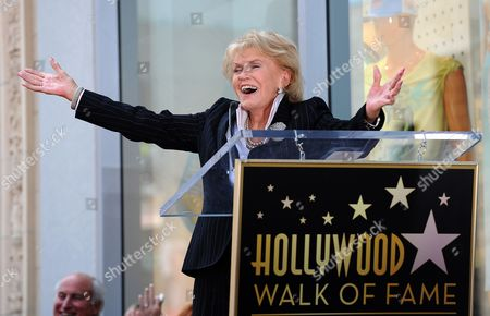 Us Singer Jane Morgan Sings Her Hit Single 'Fascination' During a Ceremony Honoring Her with a Star on the Hollywood Walk of Fame in Hollywood California Usa 06 May 2011 Morgan Received the 2439th Star on the Hollywood Walk of Fame United States Hollywood