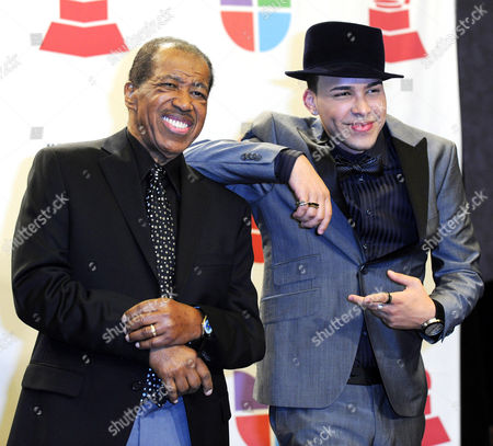 Us Singer Ben E King (l) and Us-dominican Singer Prince Royce at the 11th Annual Latin Grammy Awards in Las Vegas Nevada Usa 11 November 2010 Latin Grammy Awards Recognizes Artistic And/or Technical Achievement not Sales Figures Or Chart Positions and the Winners Are Determined by the Votes of Their Peers-the Qualified Voting Members of the Academy United States Las Vegas