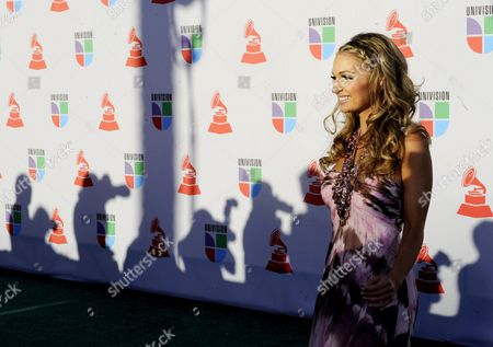 Guatemalan and Costan Rican Singer Sophia Del Carmen Arrives For the 11th Annual Latin Grammy Awards in Las Vegas Nevada Usa 11 November 2010 Latin Grammy Awards Recognizes Artistic And/or Technical Achievement not Sales Figures Or Chart Positions and the Winners Are Determined by the Votes of Their Peers-the Qualified Voting Members of the Academy United States Las Vegas