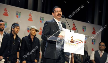 Mexican Singer Mario Quintero Lara Makes a Nominations Announcement During Press Conference For the 11th Annual Latin Grammy Awards in Los Angeles California Usa 08 September 2010 the Latin Grammy Awards Recognize Excellence and Create a Greater Public Awareness of the Cultural Diversity and Contributions of Recording Artists the Awards Ceremony Will Take Place on 11 November in Las Vegas United States Los Angeles