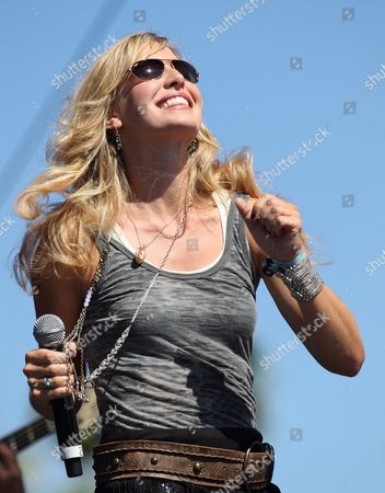 Stock Picture of Us Singer Joanna Smith Performs at the Stagecoach Country Music Festival at the Empire Polo Grounds in Indio California Usa 01 May 2011 United States Indio