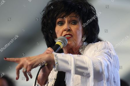 Us Singer Wanda Jackson Performs at the Stagecoach Country Music Festival at the Empire Polo Grounds in Indio California Usa 01 May 2011 United States Indio