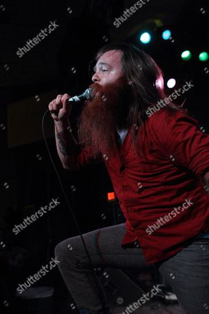 A Picture Made Available on 19 February 2011 Shows Valient Himself of the Us Rock Band Valient Thorr Performing in Concert at the Vogue Theater in Indianapolis Indiana 18 February 2011 United States Indianapolis