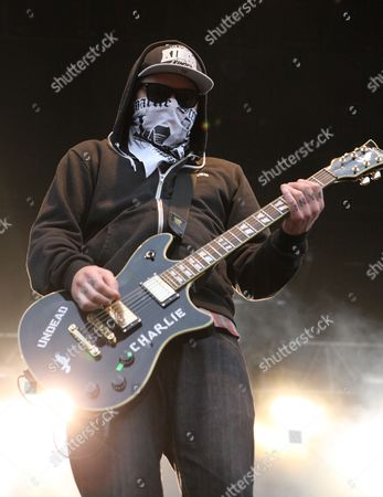 Charlie Scene of Hollywood Undead Performs at the Range Festival at Crew Stadium in Columbus Ohio Usa 22 May 2011 United States Columbus