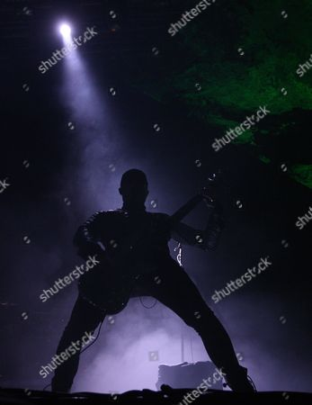 Stock Image of Peredur Ap Gwynedd of the Australian-british Band Pendulum Performs at the Ultra Music Festival (umf) in Miami Florida Usa 25 March 2011 Umf is One of the World's Leading Electronic and Alternative Music Events and Runs From 25 to 27 March United States Miami