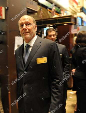 Chairman and Ceo of Coach Inc Lew Frankfort on the Floor of the New York Stock Exchange in New York New York Usa on 05 October 2010 Stocks Closed Up Almost 200 Points Following News of Japanese Interest Rates United States New York