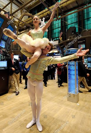 Editorial photo of Usa New York Stock Exchange Ballet - Dec 2010