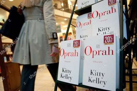 Copies of 'Oprah: a Biography' by Author Kitty Kelley on the Shelves of a Barnes and Noble Bookstore in Northwest Washington Dc Usa on 13 April 2010 the Book is an Unauthorized Biography of Talk Show Host Oprah Winfrey and Goes on Sale in the United States Today United States Washington
