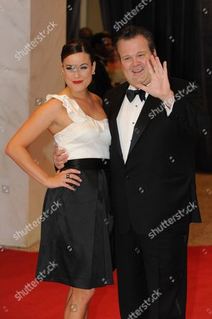 Stock Picture of Us Actor Eric Stonestreet (r) and Katherine Tokarz (l) Arrive For the White House Correspondents' Association (whca) Dinner in Washington Dc Usa 30 April 2011 the Event is Being Attended by Celebrity Guests Us President Barack Obama and the First Lady and Members of the Obama Administration United States Washington