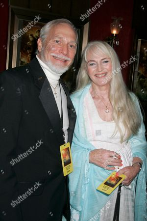 Stock Picture of Producer Douglas Gresham and wife