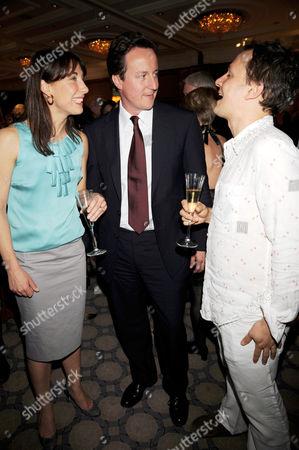 David Cameron and Wife Samantha and Jonny Yeo