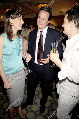 David Cameron and Wife Samantha with Jonny Yeo