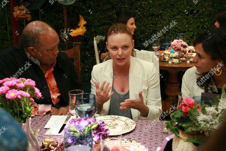 Quincy Jones, Designer Stella McCartney and Kidada Jones