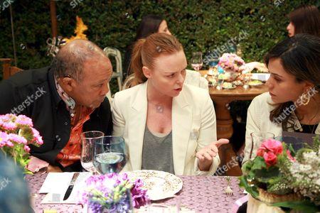Quincy Jones,  Stella McCartney and Kidada Jones
