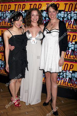 Jennifer Ikeda, Ana Reeder and Elizabeth Marvel