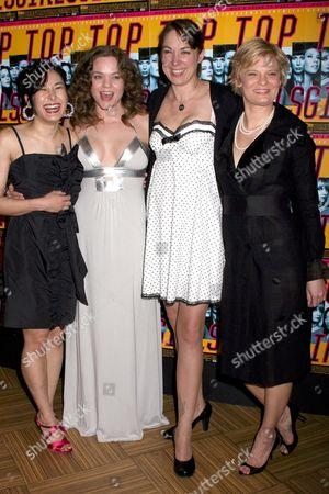 Jennifer Ikeda, Ana Reeder, Elizabeth Marvel and Martha Plimpton