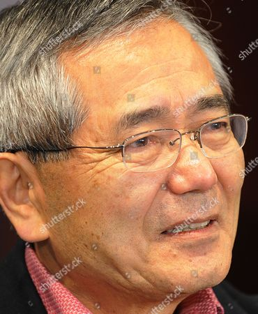 Distinguished Professor of Chemistry Ei-ichi Negishi Co-winner of the Nobel Prize in Chemistry Meets with the Media at the Dauch Alumni Center at Purdue University in West Lafayette Indiana Usa 06 October 2010 Negishi Will Share the Award with Richard F Heck of the University of Delaware and Akira Suzuki of Hokkaido University of Sapporo Japan United States West Lafayette