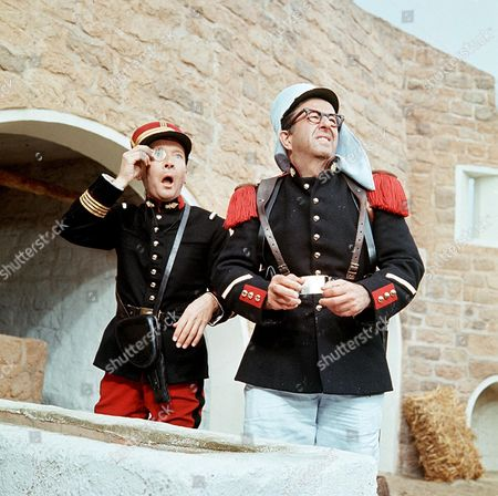 'Carry on: Follow That Camel'   Film Kenneth Williams and Phil Silvers