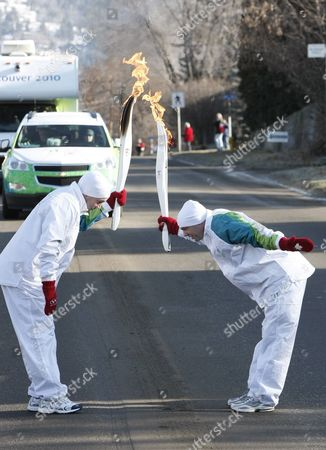 Editorial picture of Canada Vancouver 2010 Olympic Games Torch Relay - Jan 2010