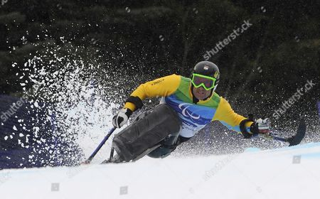 Martin Braxenthaler of Germany in Action During the Men?s Giant Slalom Sitting Competition at the Vancouver 2010 Paralympic Games 16 March 2010 Canada Whistler