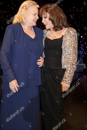 Carroll Baker and Joan Collins