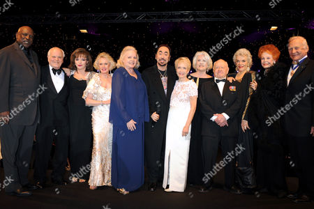 Louis Gossett Jnr, Dickie Moore, Joan Collins, Tippi Hedren, Carroll Baker, David Gest, Jane Powell, Sally Ann Howes, Mickey Rooney, Jane Russell, Arlene Dahl and Buzz Aldrin