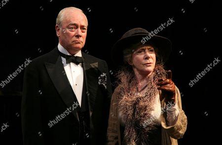 Stock Photo of Sheila Steafel as Mrs Brice and David Liiick as Florenz Ziegfeld