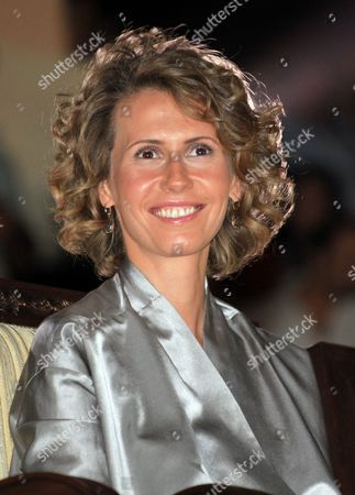 Syrian First Lady Asma Al-assad Smiles As She Attends the Opening of the Special Olympics 7th Mena Regional Games For Handicapped at the Tishrin Stadium in Damascus Syria on 25 September 2010 the Event is Held Under the Auspices of Asma Al-assad the Honorary Chairwoman of the Special Olympics in Syria Some 1 600 Athletes From 23 Middle East and North African (mena) Countries Will Compete in 15 Different Disciplines Syrian Arab Republic Damascus