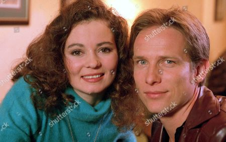 Stock Photo of 'Heartbeat'   TV Jayne Ashbourne and Jonathan Kerrigan